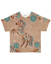 For Horse Lovers All-over T-Shirt front