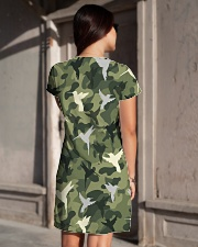 For Hummingbird Lovers All-over Dress aos-dress-back-lifestyle-1