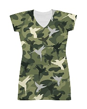 For Hummingbird Lovers All-over Dress front