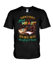 Your Heart V-Neck T-Shirt thumbnail