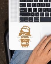 Sloth Born To Be Mild Sticker - Single (Vertical) aos-sticker-single-vertical-lifestyle-front-11