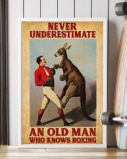 Boxing Old Man 11x17 Poster lifestyle-poster-4