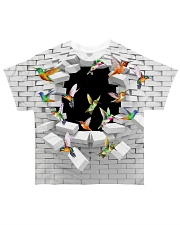 Hummingbird All-over T-Shirt front