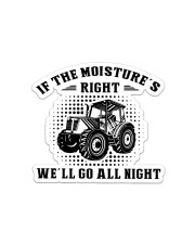 Farmer Tractor Sticker - Single (Horizontal) front