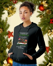 Let Us Sew  Hooded Sweatshirt lifestyle-holiday-hoodie-front-4