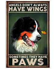 Bernese Mountain Angel 11x17 Poster front