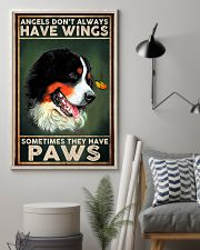 Bernese Mountain Angel 11x17 Poster lifestyle-poster-1