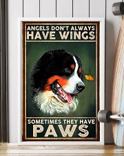 Bernese Mountain Angel 11x17 Poster lifestyle-poster-4