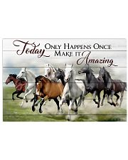Horse Make It Amazing 17x11 Poster front