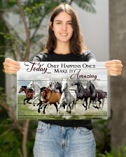 Horse Make It Amazing 17x11 Poster poster-landscape-17x11-lifestyle-19