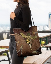 For Bee Lovers All-over Tote aos-all-over-tote-lifestyle-front-04
