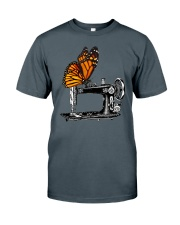 A Monarch And A Quilting Machine Classic T-Shirt tile