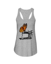 A Monarch And A Quilting Machine Ladies Flowy Tank thumbnail