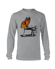 A Monarch And A Quilting Machine Long Sleeve Tee thumbnail