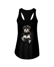 For Schnauzer Lovers Ladies Flowy Tank thumbnail