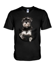 For Schnauzer Lovers V-Neck T-Shirt thumbnail