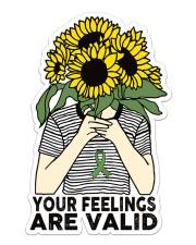 Mental Health Sticker - Single (Vertical) front