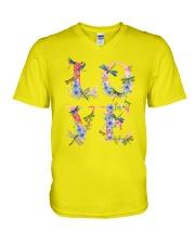 Love Dragonflies V-Neck T-Shirt thumbnail
