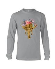 Flowers And Elephant Long Sleeve Tee thumbnail