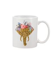 Flowers And Elephant Mug thumbnail