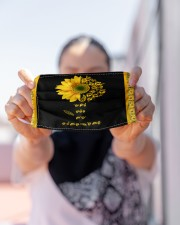 ASL You Are My Sunshine Cloth face mask aos-face-mask-lifestyle-07