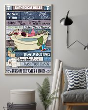 Bathroom Rules 11x17 Poster lifestyle-poster-1
