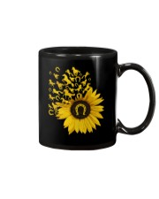 Horses Sunflower Mug tile
