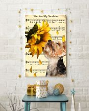 Sunflower Yorkie Sunshine 11x17 Poster lifestyle-holiday-poster-3