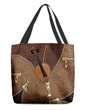 For Violin Lovers All-over Tote front