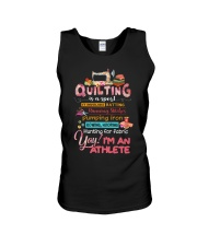 Quilting Is A Sport Unisex Tank thumbnail
