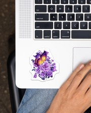 Butterfly Purple  Sticker - Single (Vertical) aos-sticker-single-vertical-lifestyle-front-11