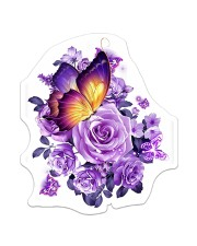 Butterfly Purple  Sticker - Single (Vertical) front