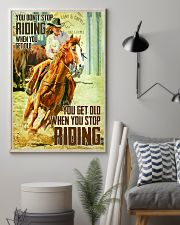 Don't Stop Riding When You Get Old 11x17 Poster lifestyle-poster-1