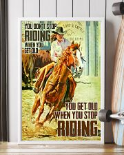 Don't Stop Riding When You Get Old 11x17 Poster lifestyle-poster-4