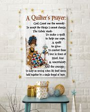 A Quilter's Prayer 11x17 Poster lifestyle-holiday-poster-3