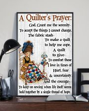 A Quilter's Prayer 11x17 Poster lifestyle-poster-2
