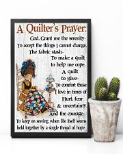 A Quilter's Prayer 11x17 Poster lifestyle-poster-8