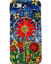 Hippie Stained Glass Phone Case i-phone-8-case