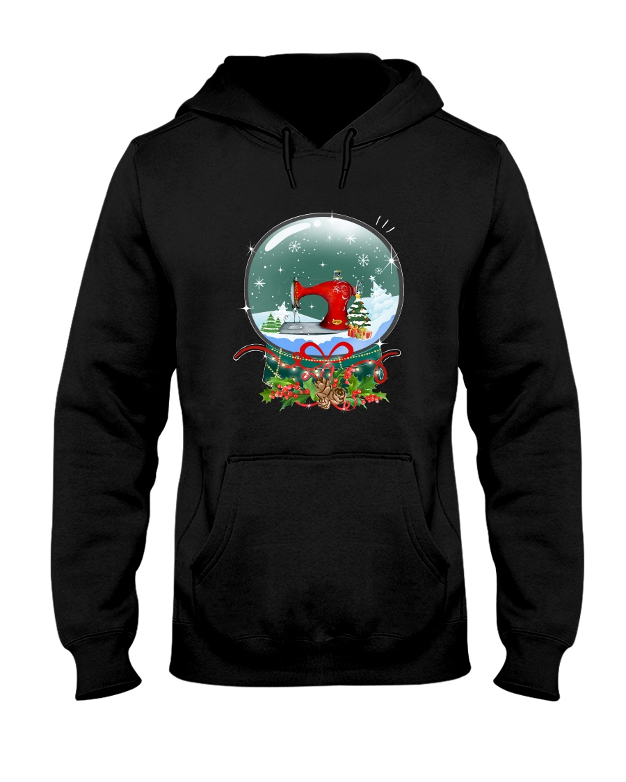 For Quilting And Sewing Lovers Hooded Sweatshirt