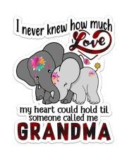 Grandma Love  Sticker - Single (Vertical) front