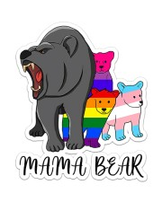 LGBT Mama Bear Sticker - Single (Vertical) front