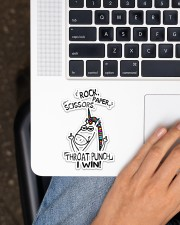 Unicorn  Sticker - Single (Vertical) aos-sticker-single-vertical-lifestyle-front-11