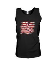 Butterfly Us Flag Unisex Tank tile