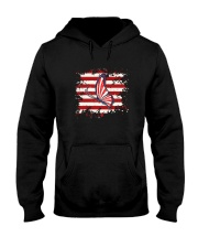 Butterfly Us Flag Hooded Sweatshirt thumbnail