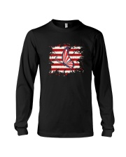 Butterfly Us Flag Long Sleeve Tee thumbnail