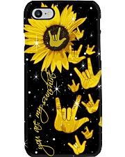 Sign Language Phone Case i-phone-7-case