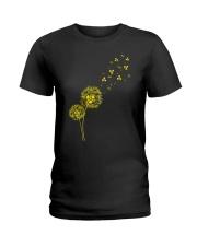 Dandelion Radiology Ladies T-Shirt thumbnail