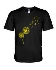 Dandelion Radiology V-Neck T-Shirt thumbnail