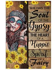 She Has The Soul Of Hippie  11x17 Poster front