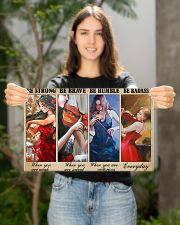 Violin Be Strong Poster 17x11 Poster poster-landscape-17x11-lifestyle-19